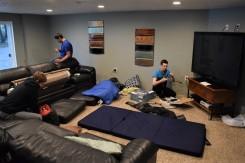the gamer room